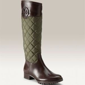 TORY BURCH Round-Toe Knee-High Boots